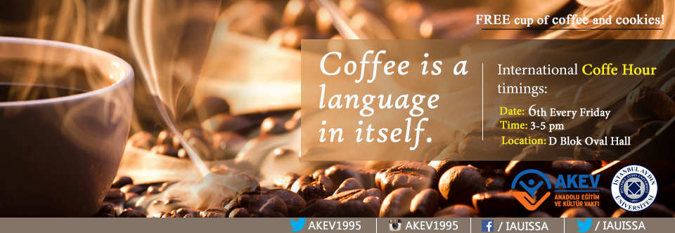 Coffe is a languange in itself
